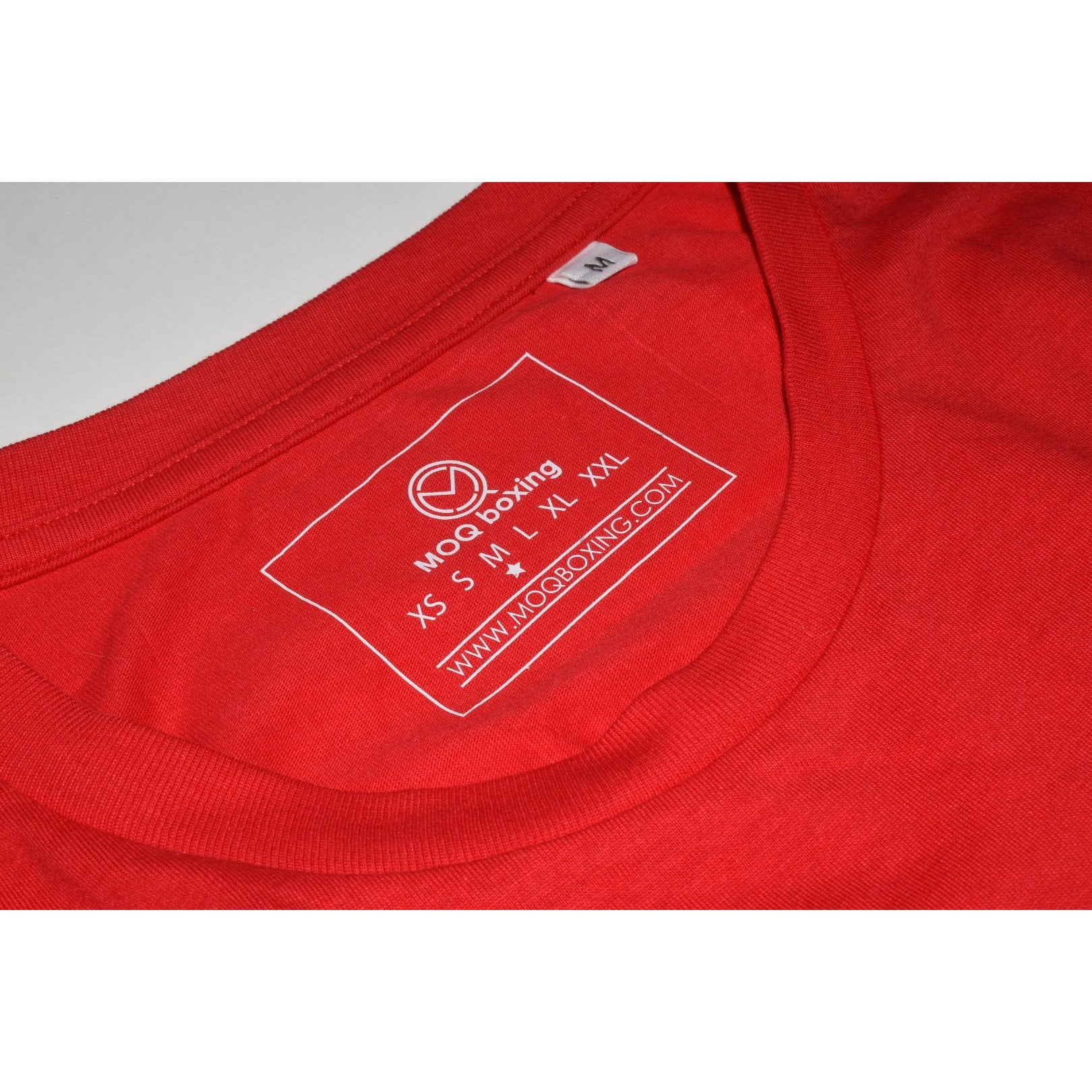 "The ""UNDISPUTED"" Men's Red T-shirt with White Box logo"