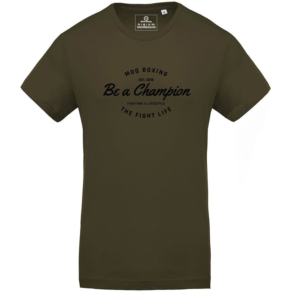 Men's Khaki Be a Champion Tee
