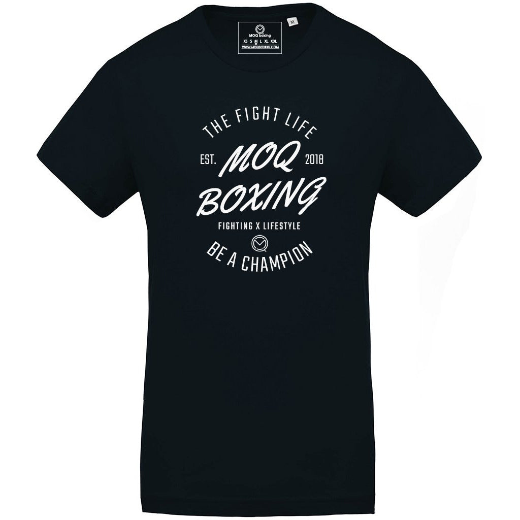 Men's Navy FIGHT LIFE Tee