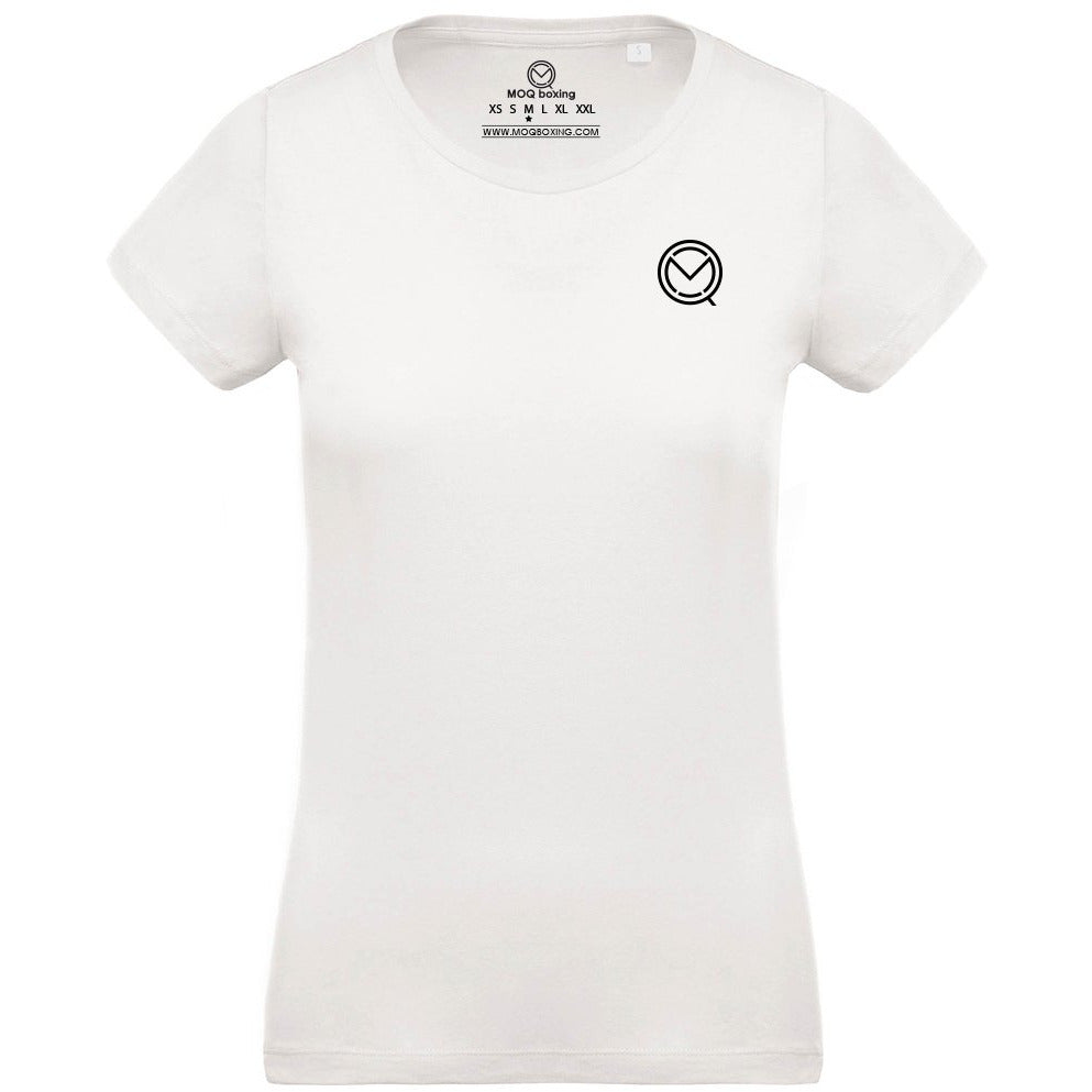 Ladies White Logo Tee