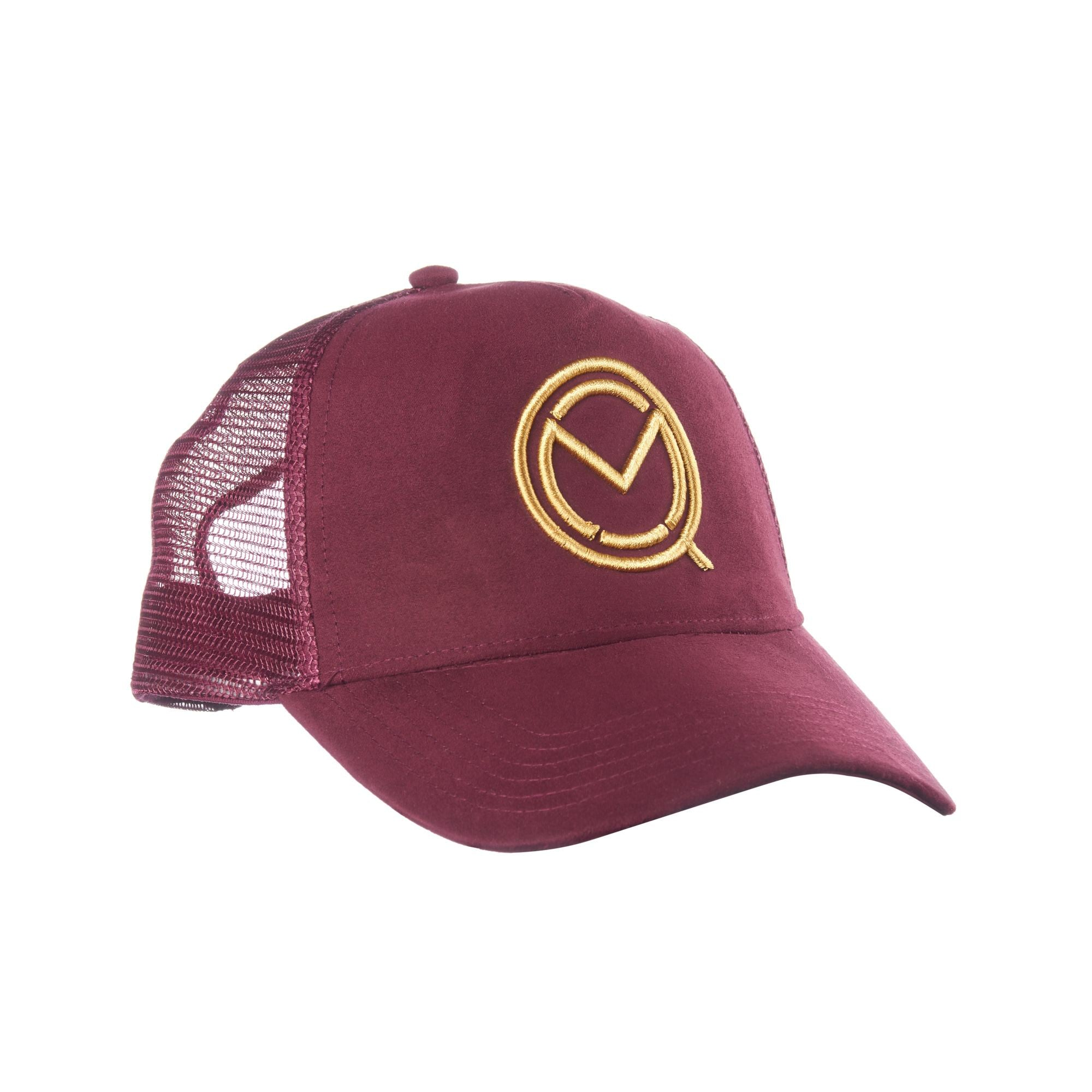 Burgundy Suede Style Cap - MOQ boxing