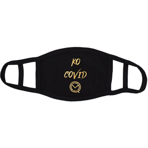 MOQ boxing KO Covid Mask - GOLD