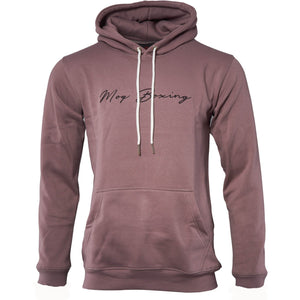 Grey Signature Boxing Hoodie