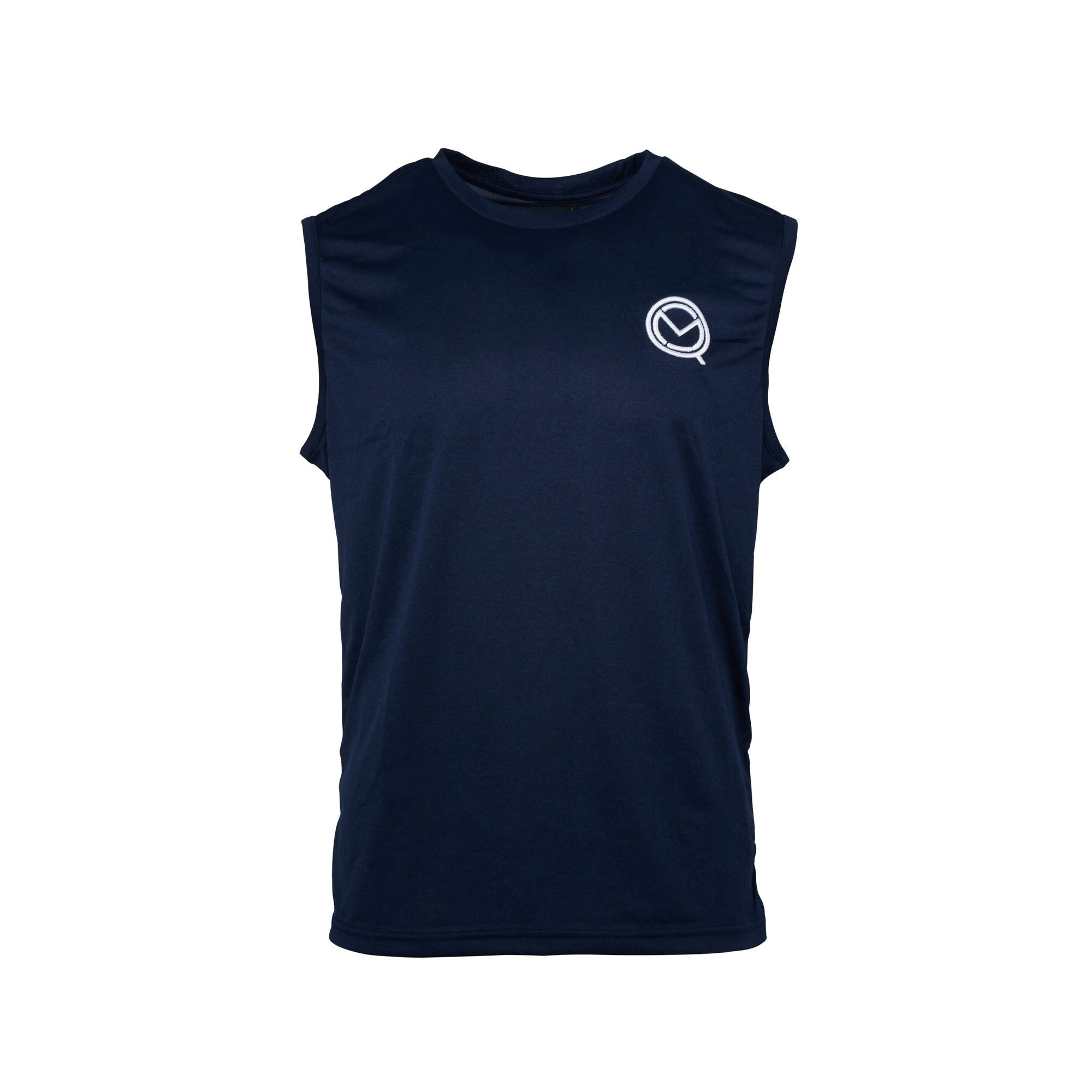 Men's Navy Fight Life Tank vest Top - MOQ boxing