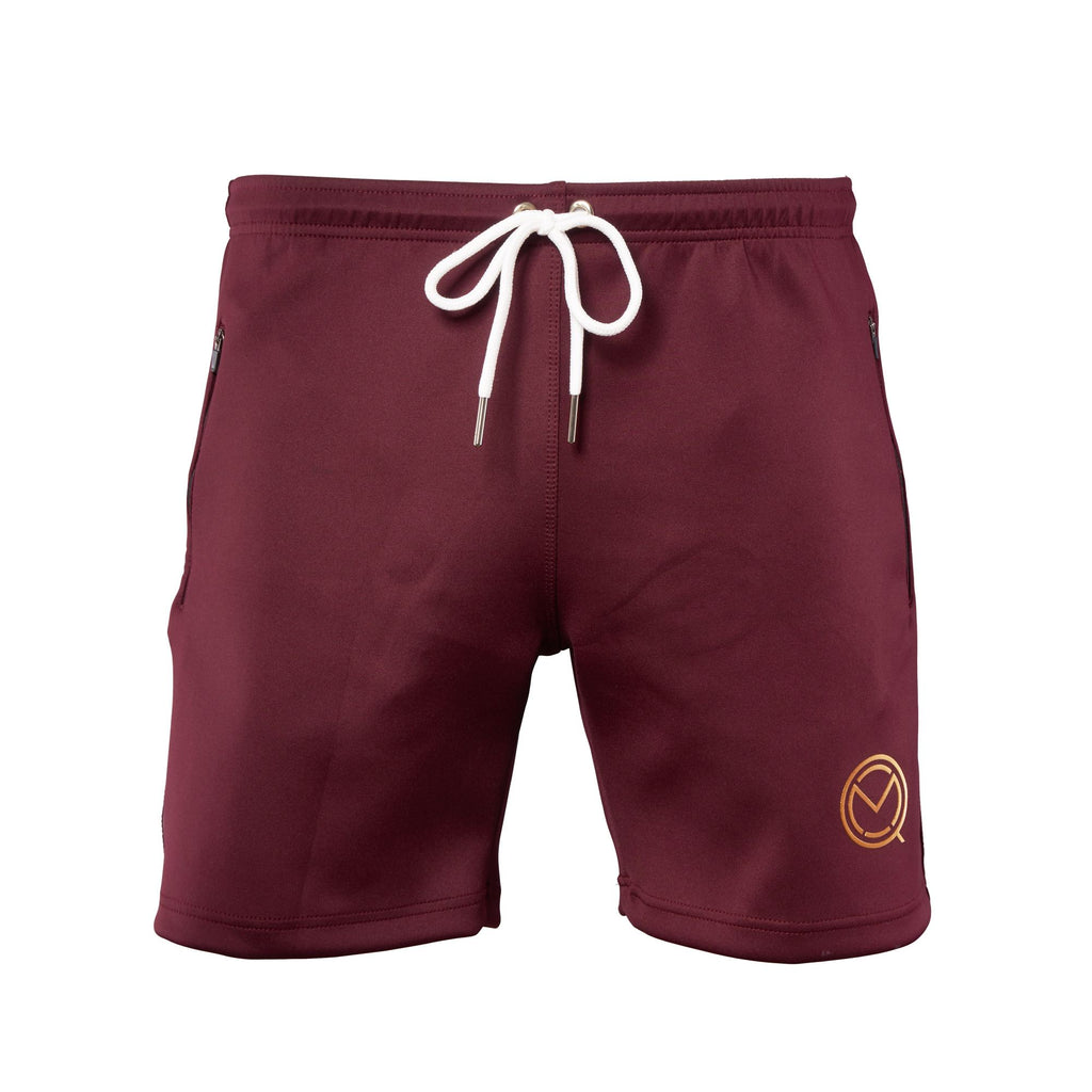 P4P Burgundy Shorts - MOQ boxing