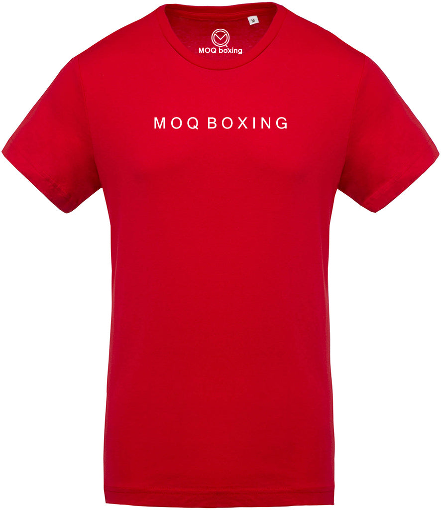 MOQ BOXING Classic RED tee