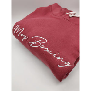 Red Signature Hoodie - MOQ boxing