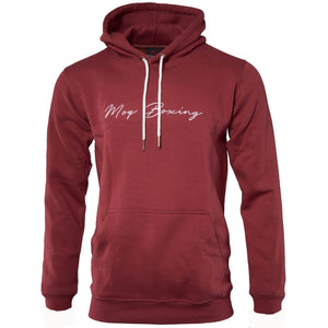 Red Signature men's boxing hoodie