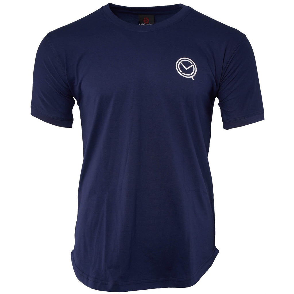 Short Sleeve Essential Navy Blue Cotton boxing T-Shirt