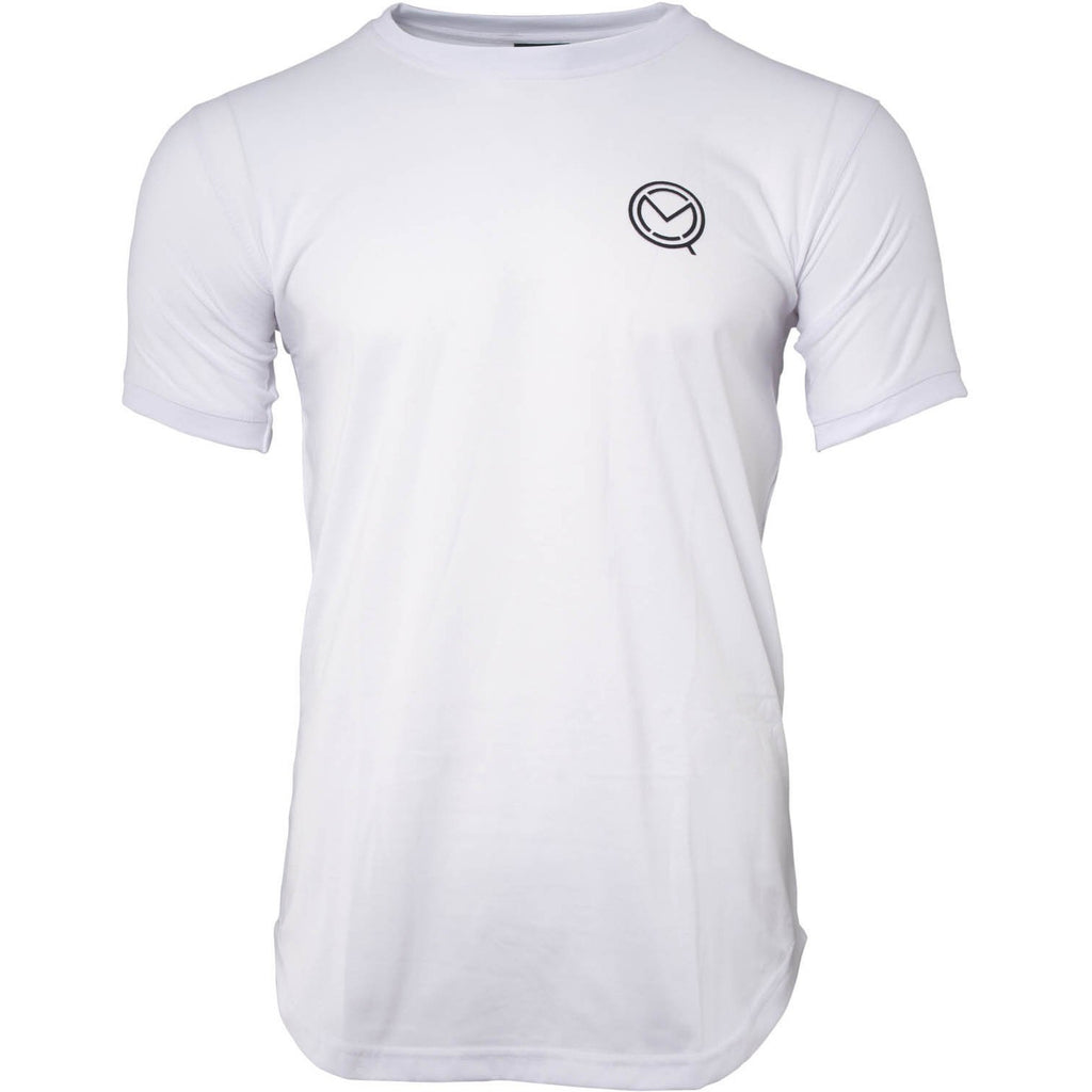 Short Sleeve Essential White Boxing Cotton T-Shirt
