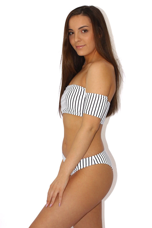 Post Tropical Striped Bikini