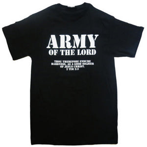 c7a2954f6457f Army of the Lord Christian Jesus Christ Men and Women couples Matching T- Shirt Novel