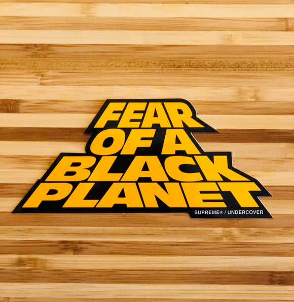 Sticker Fear of a Black Planet