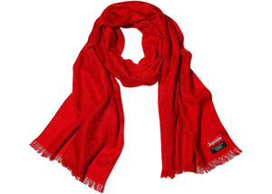 Supreme Fuck Wool Scarf Red