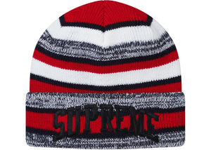 Supreme Heather Stripe Beanie