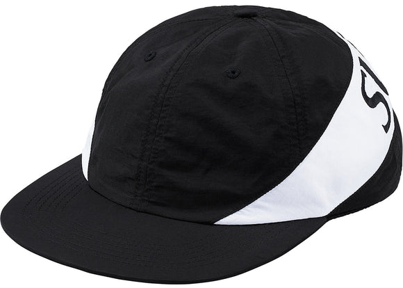 Supreme Nylon Arc Black 6 Panel