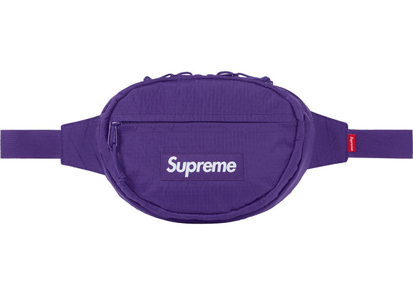 Supreme Waist Bag Purple FW18