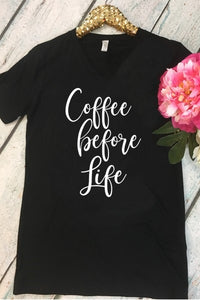 COFFEE IS LIFE TEE