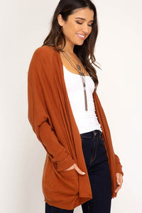 FALL TOGETHER CARDIGAN