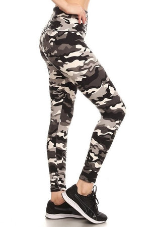 CAMO YOGA LEGGINGS
