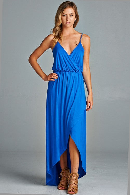 LALA ROYAL BLUE MAXI DRESS