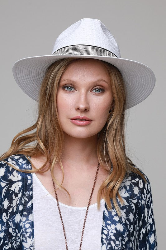PANAMA HAT- WHITE