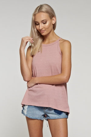 ROSE ALL DAY TANK TOP
