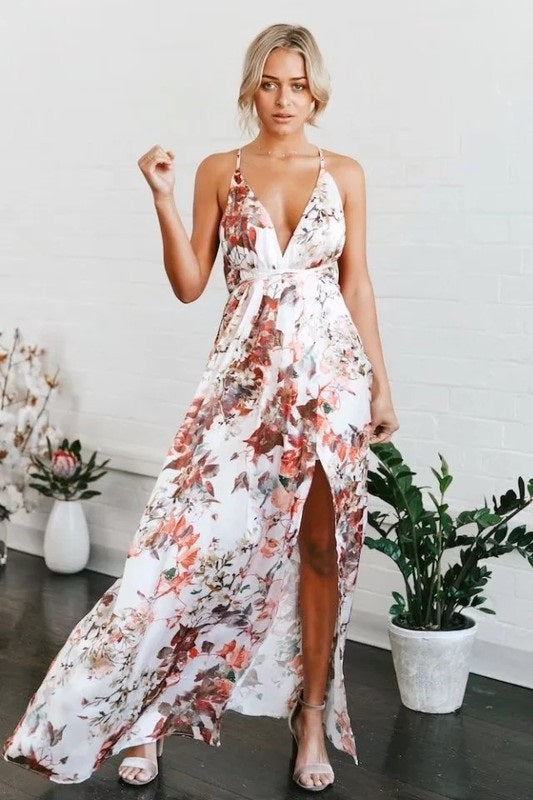 STEP OUT MAXI DRESS