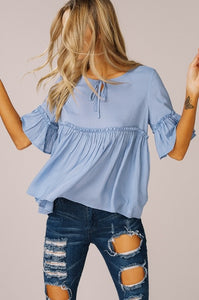 IN LOVE BABYDOLL TOP