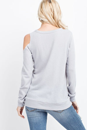 SCARLETT OFF SHOULDER SWEATER