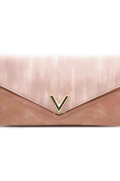 AFTER HOURS PINK CLUTCH