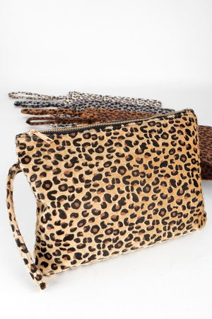 DREAMY LEOPARD CLUTCH
