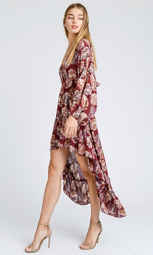 CAN'T LOOK AWAY MAXI DRESS