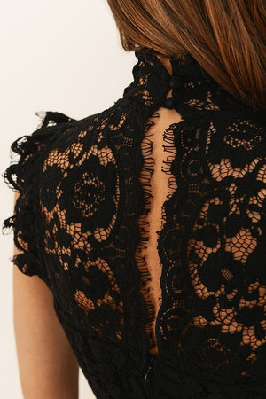 DATE NIGHT BLACK LACE DRESS
