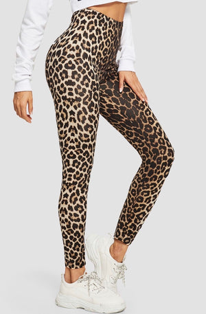 FIERCE LEOPARD LEGGINGS