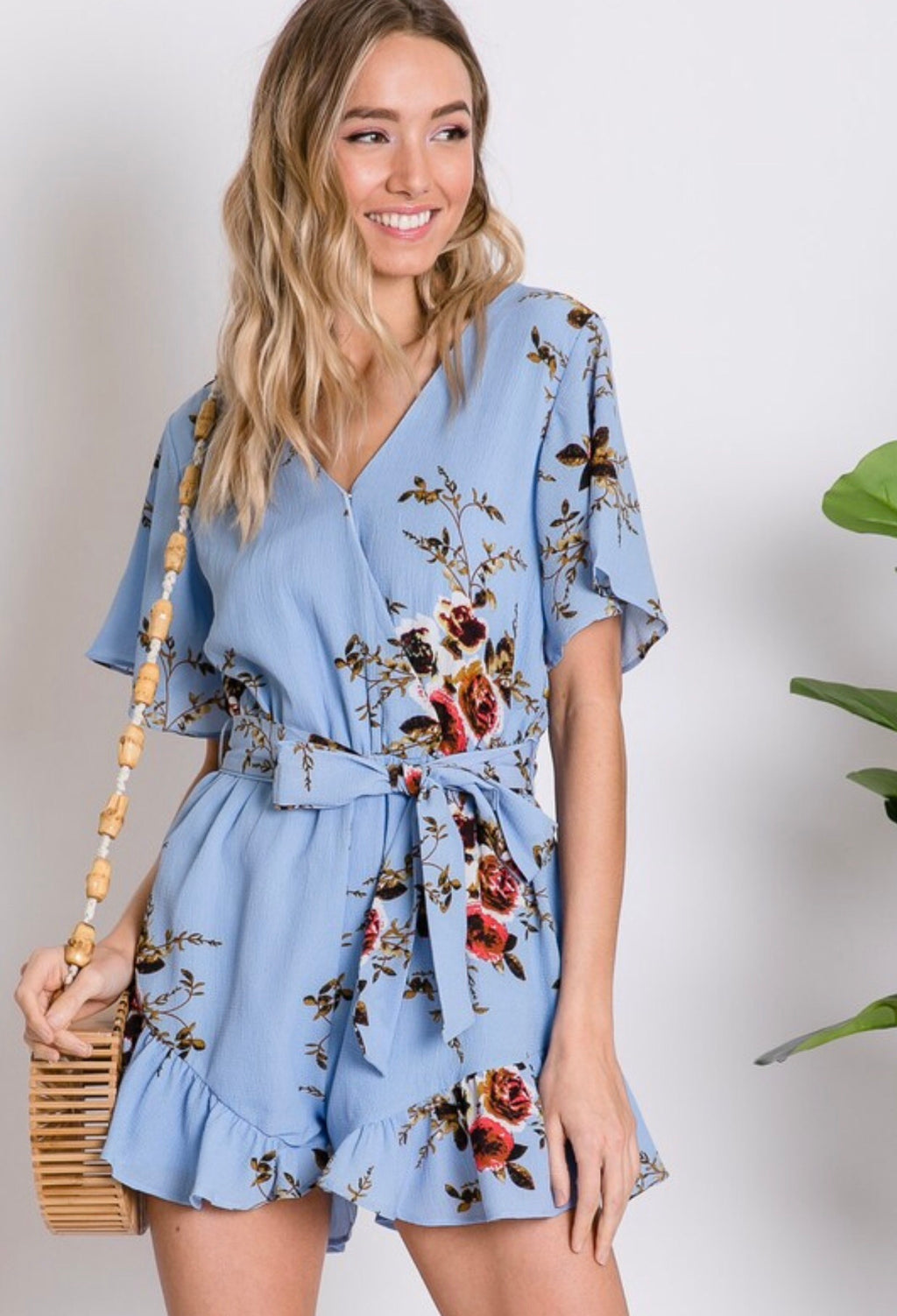 ROMANTIC BOTANICAL ROMPER
