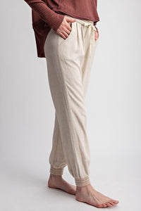 CREAM JENSON PANTS