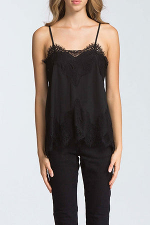 IT'S JUST SIMPLE BLACK CAMI
