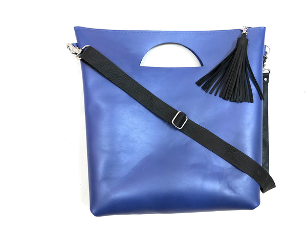 Large leather tote bag,  Crossbody leather handbag