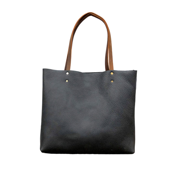 Leather tote bag, Everyday Leather tote