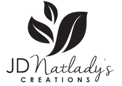 new logo for JDNatlady's Creations