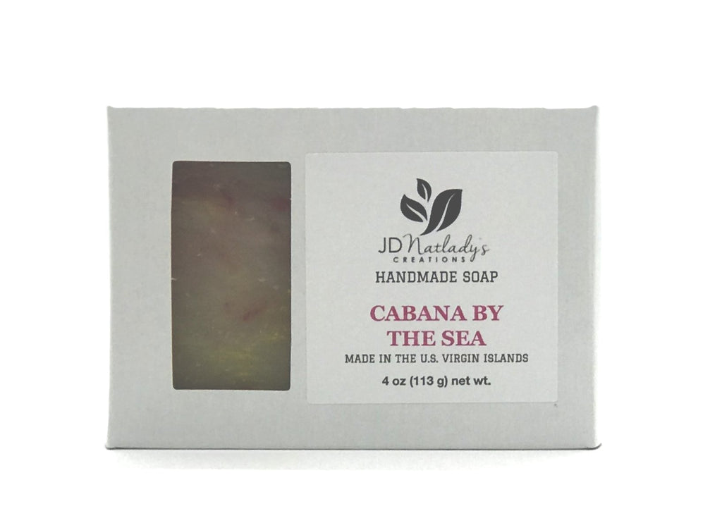 Cabana by the Sea Soap - Hot Process Soap - Rustic Soap