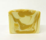white tea and ginger scented handmade bath soap