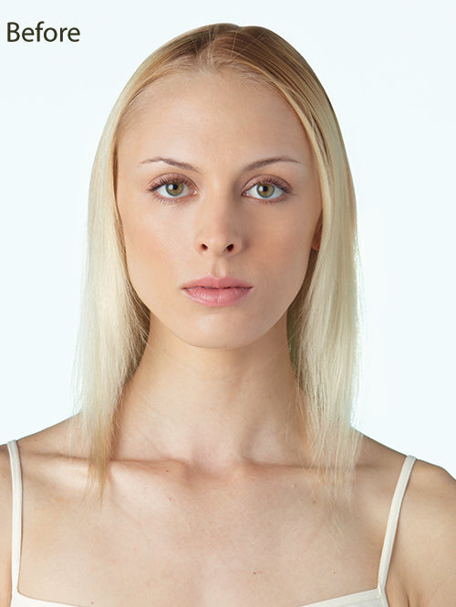 Medium Mono Top Piece : Synthetic Hair Topper