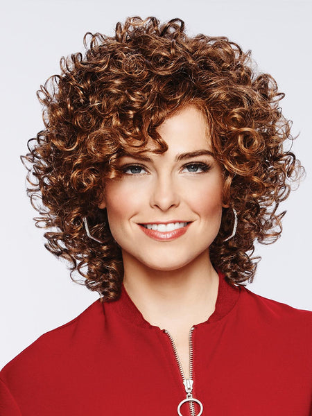 Curl Appeal : Lace Front Synthetic wig