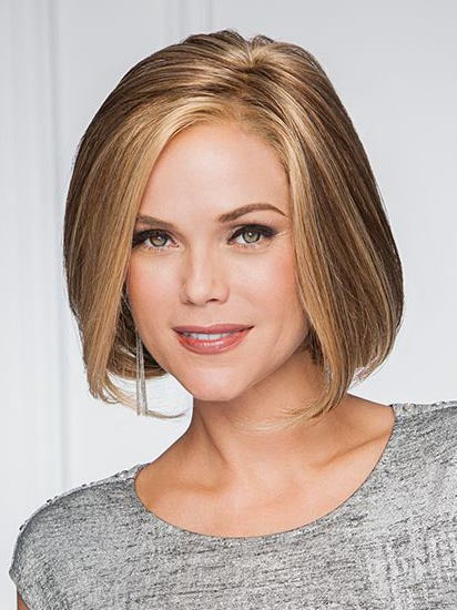 High Society : Lace Front Mono Part Synthetic wig