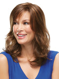 Katherine : Lace Front/Open Cap Synthetic Wig