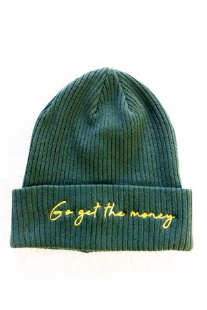 """Go Get The Money"" Beanies"