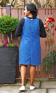 Breeze Short Denim Pinafore