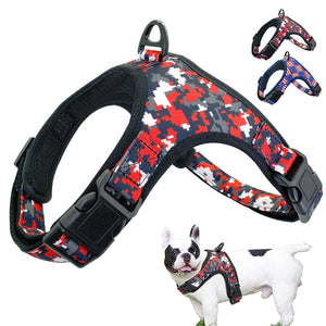 Nylon Dog Harness Adjustable Pet Mesh Harness Vest